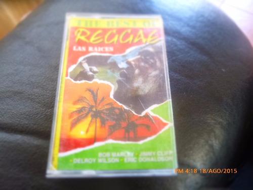 cassette the best of reggae las raices (c-311