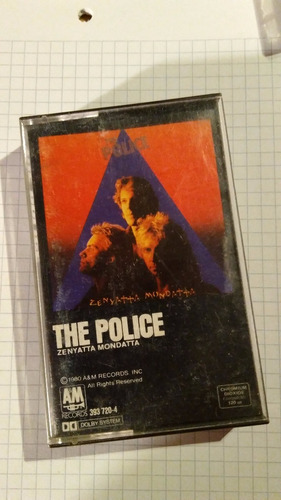 cassette the police