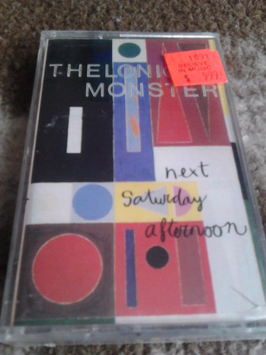 cassette thelonious monster - next saturday afternoon 1987