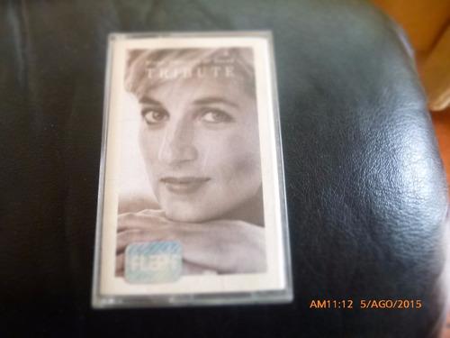 cassette - tribute -- diana princesa de gales   kid (c-229