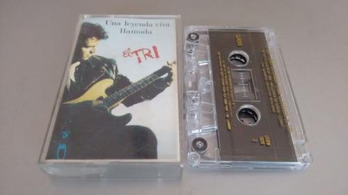 cassette una leyyenda viva llamada el tri formato cassette