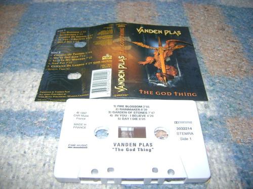 cassette vanden plas - the god thing 1997 cnr - rock metal