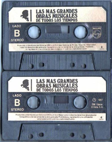 cassettes, beethoven y schubert.