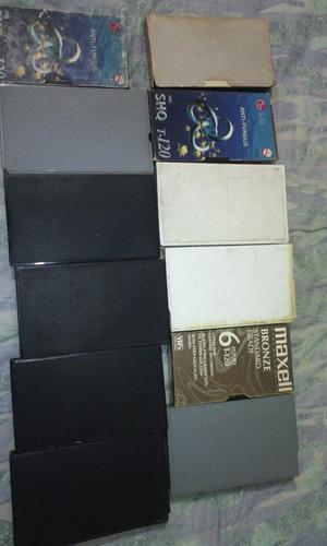 cassettes (cintas) de vhs