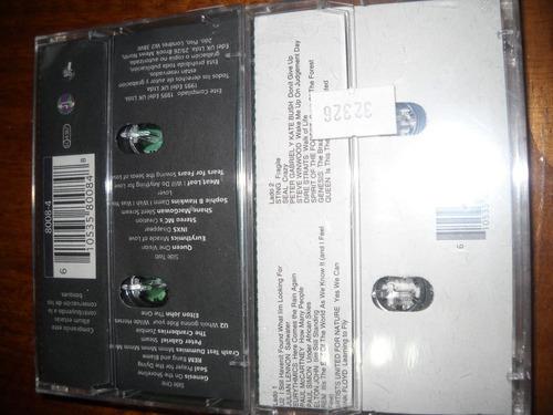 cassettes earthrise the rainforest album.queen,u2,rem