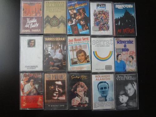 cassettes originales folckore latino