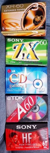 cassettes virgen nuevos