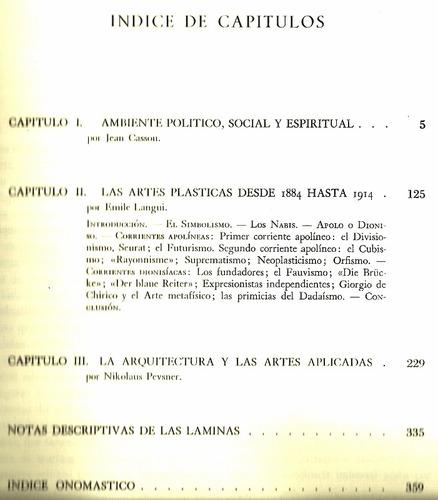 cassou-langui-pevsner. génesis del siglo xx