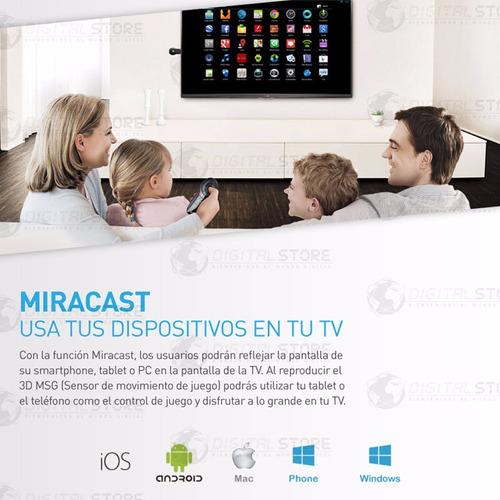 cast android tv box convertidor smart wifi simi chromecast