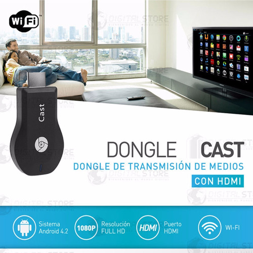 cast android tv box convertidor smart wifi simi chromecast m