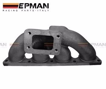 cast iron turbo manifold multiple honda b16 b18b  t3 flange