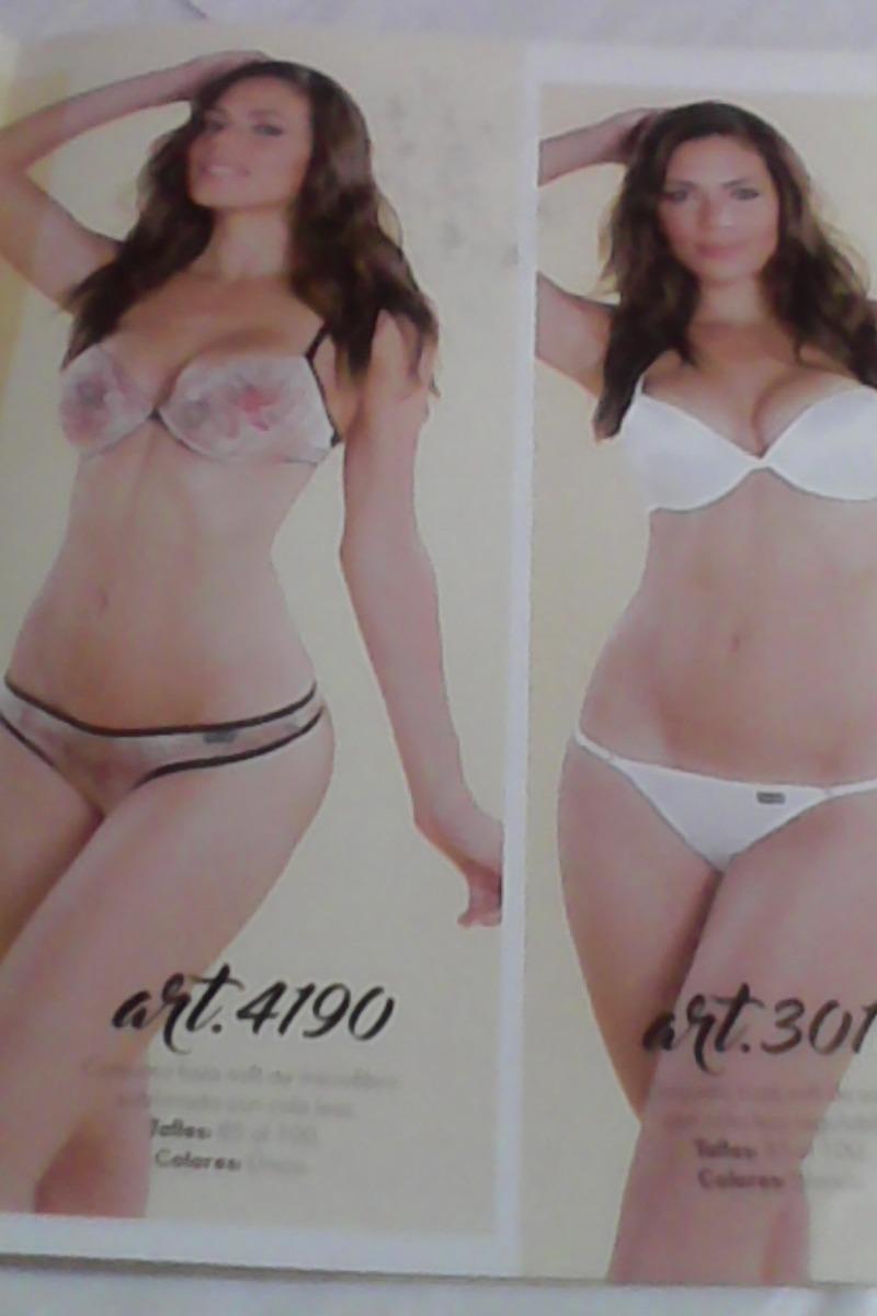 eeda829bef castaña modelo muy sexi -catálogo ropa interior -lencería. Cargando zoom.