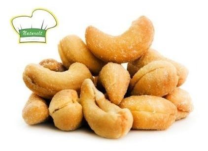 castanha de caju torrada s/ sal w1 - 1,2kg - naturelt