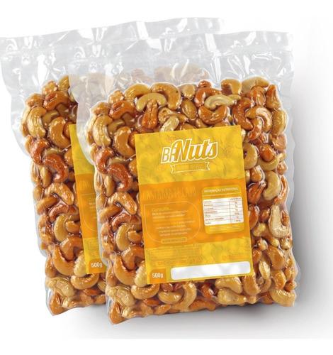 castanha de caju w1 - 1kg - inteira / torrada / sem sal