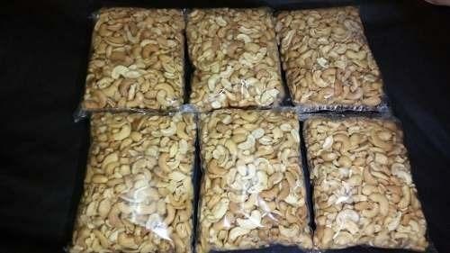 castanhas de caju torradas em bandas 1/2kg