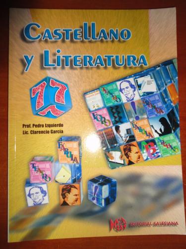 castellano y literatura, 7mo grado, editorial salesiana