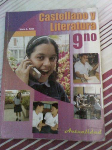 castellano y literatura 9no