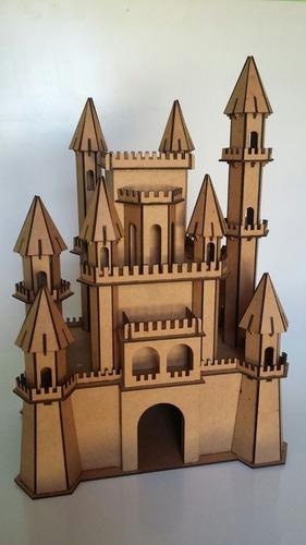 castelo em mdf crú
