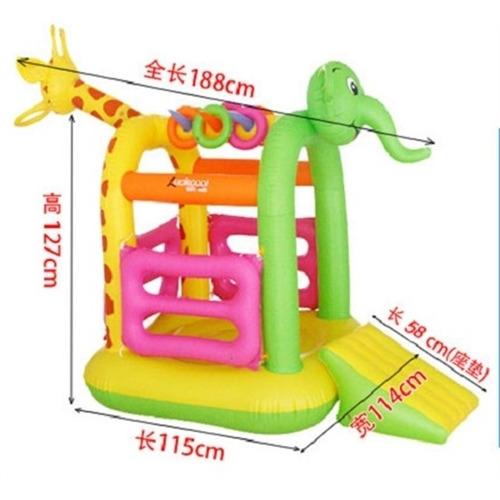 castelo infantil inflavel pula pula 3em1 playground criança