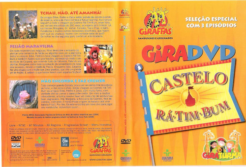castelo ra-tim-bum: gira dvd