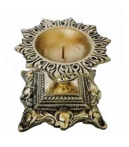 castiçal vela 7 dias bronze presentes casa decoração lindo