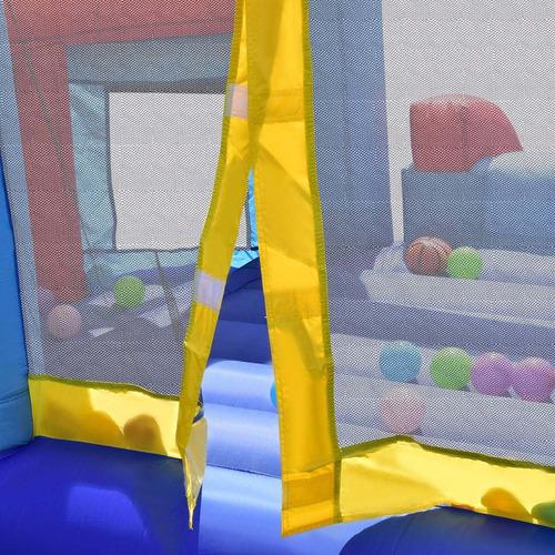 castillo brincolin inflable alberca pelotas basket bomba