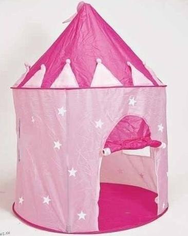 castillo casita plegable infantil princesa pelotero carpa