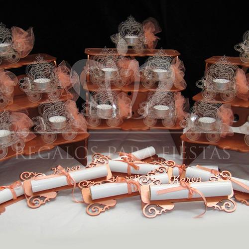 castillo + ceremonia de velas + pergaminos de regalo