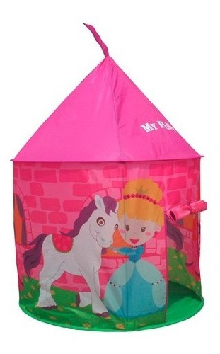 castillo de juguete lona para niñas