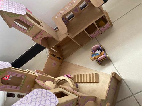 castillo de madera