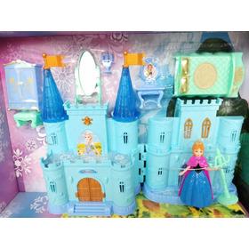 Castillo De Princesa De Frozen Con Music Accesorios Varios