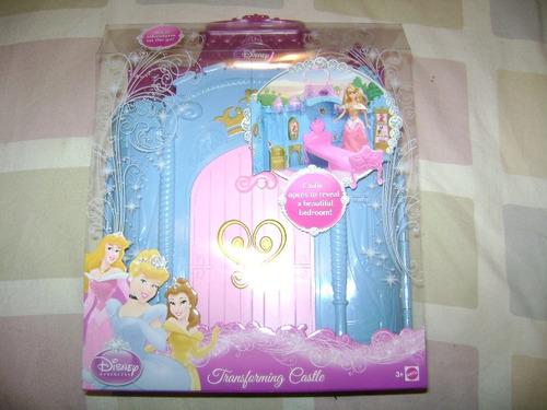 castillo de princesas disney se transforma en recamara