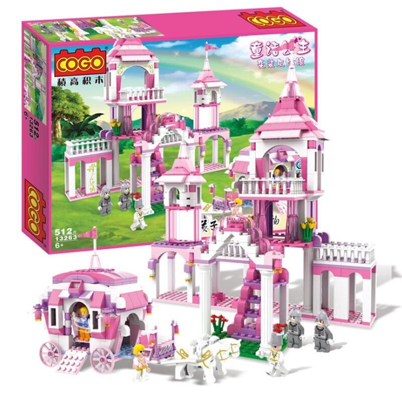 Castillo De Princesas Para Armar Tipo Lego 512pz Ragalo Nina