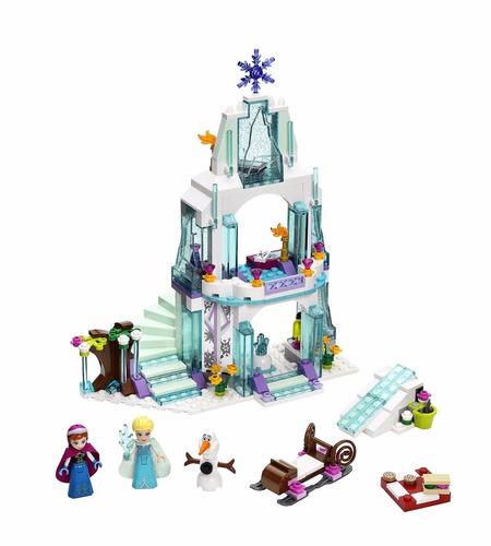 castillo elsa frozen lego