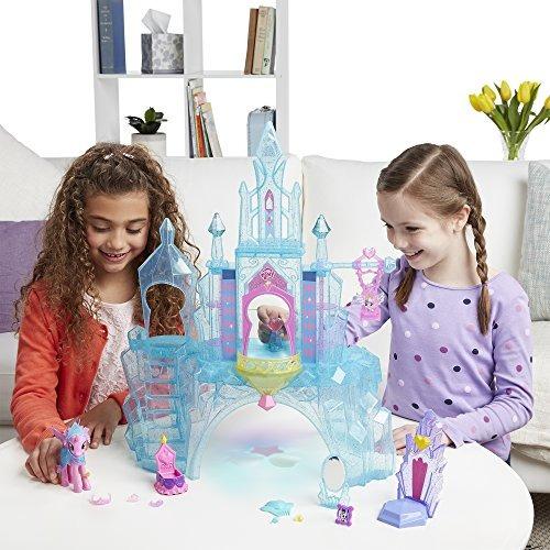 castillo imperio my little pony equestria crystal azul