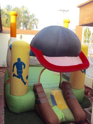 castillo inflable 3x4  beisbol con motor trecientos trump