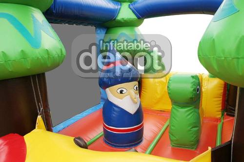 castillo inflable bosque encantado (cód.:421)