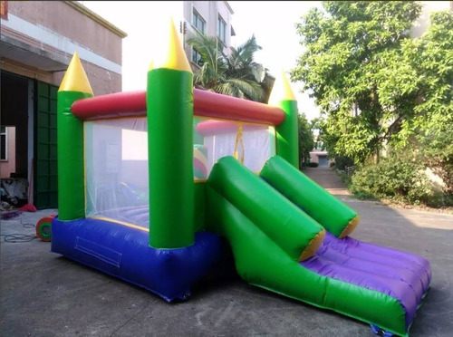 castillo inflable con tobogan venta uso comercial
