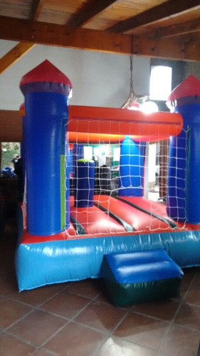 castillo inflable con turbina