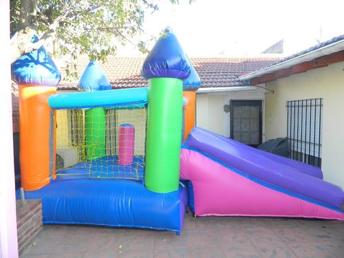 castillo inflable con turbina  oferta de fabrica imperdible