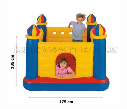 castillo inflable grande trampolin pelotero para niños niñas