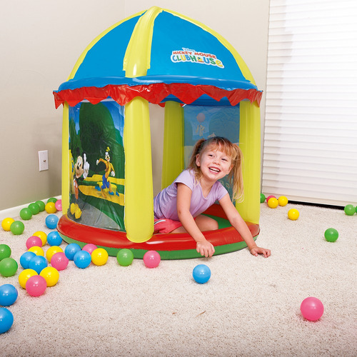 castillo inflable mickey mouse  99x h110cm - bestway