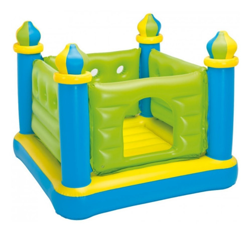 castillo inflable saltarin pelotero 132x132 intex 22681/1 mm