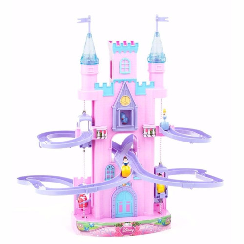 castillo magico princesas c/luz ascensor musica de ditoys