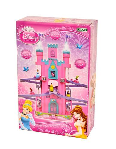 castillo magico princesas musica luz ascensor orig. ditoys