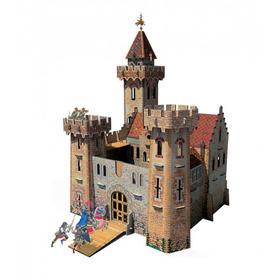Castillo Medieval Modelo A Escala (rompecabezas 3d)