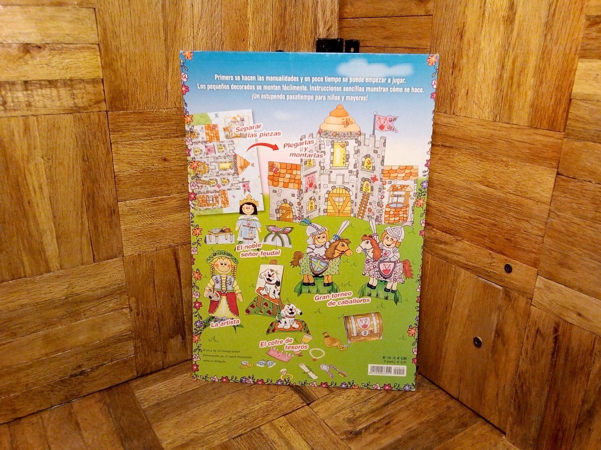 Castillo medieval mu ecos de papel libro manualidades - Manualidades castillo medieval ...