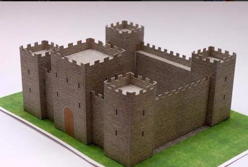 castillo medieval (para armar en papel)