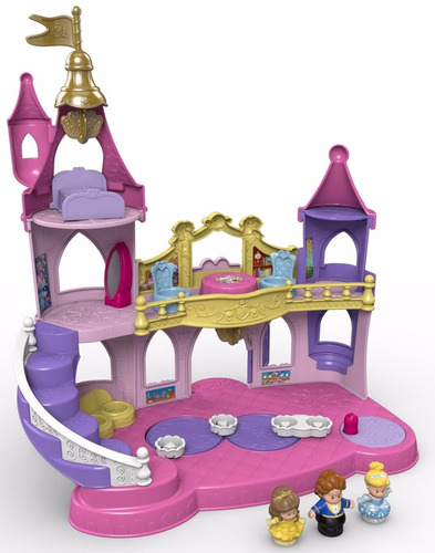 castillo musical de princesas disney - fisher-price