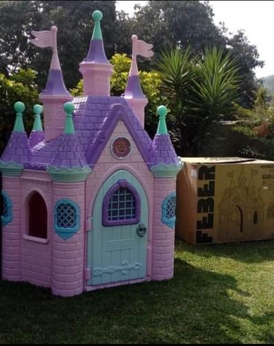 castillo niñas rosado grande envío a provincia